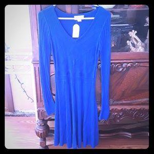 Beautiful size small blue sweater dress
